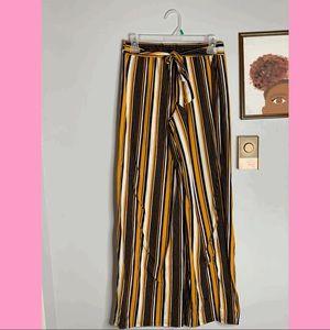 Pants - striped pants